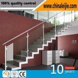 Balustrade moderne d'escalier d'acier inoxydable de la décoration 304 pour l'escalier