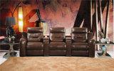 Modelo casero 442 del sofá del cuero del Recliner de los muebles