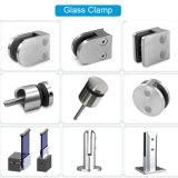 L'acciaio inossidabile il montaggio di vetro del corrimano del morsetto di vetro della pressofusione