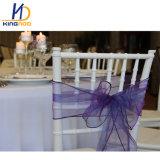 安いプラスチックホテルの宴会のイベントの現代結婚のTiffany Chiavariの椅子