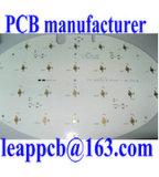 Gedrucktes Aluminiumleiterplatte mit weißer Lötmittel-Schablonen-Farbe