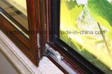 Rote Farben-Cer-anerkanntes Aluminiumfenster mit schiebender Öffnung