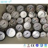 Glicerina do aço 2018 inoxidável ou petróleo de silicone - calibre de pressão enchido