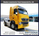 HOWO T7h 6X4 420HPの頑丈なトラクターのトラックの/Primeの発動機かトレーラトラック