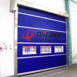 가득 차있는 투명한 PVC Windows를 가진 튼튼한 고속 산업 외부 문
