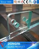サイズを10から19mmの極度の大きく低い鉄の薄板にされたガラス予約した