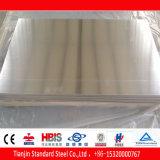 Una lámina de aluminio 6082 T6 de temperamento