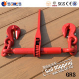 赤い塗られたラチェットのタイプ鎖ロードつなぎ