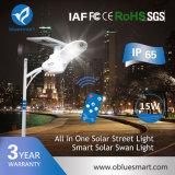 Luz de calle solar de Bluesmart LED con la lista de precios barata
