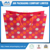 Custom Handmade Automatic Folding Gift Shopping Paper Bag
