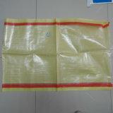 Couleur de haute qualité sac sac de ciment PP tissés Sac de sable