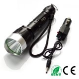 Refillable Xml T6 LED 5 Modles Tactical Flashlight Torch Jfz11A Flashlight