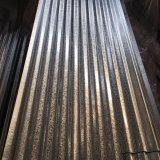 0,14*665*L'acier ondulé en métal galvanisé tôle de toit SGS