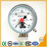 150mm manomètre Manomètre de pression de contact électrique avec prix d'usine