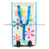 Re⪞ Y⪞ LED bolsas de compra/Profesional Fa⪞ Plegable Tory baratos reutilizables Bolsas de polipropileno con ruedas