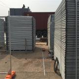 熱い販売の卸売のオーストラリアによって溶接される一時塀のパネル