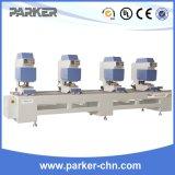 Jinan Parker Profil de PVC coloré Machine à souder à deux têtes sans soudure