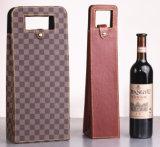 Sac cadeau en papier, sac en vin en cuir, sac à provisions en tissu, sac non tissé, sac à bulles, sac en velours (007)