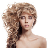 Реальные человеческие волосы, бразильское выдвижение волос скручиваемости человеческой природы