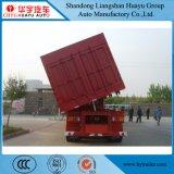 Eixo Triplo Lado pesados de carga do carvão mineral/transportes/areia semi reboque do veículo
