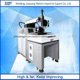 A Divisão de fibra óptica de alta velocidade máquina de soldagem a laser - Tabela Galvanómetro