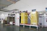 La ligne automatique de production vinicole avec du fer met en boîte le conteneur