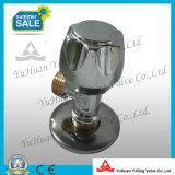 Chromed покрынный латунный угловой вентиль шланга для ванной комнаты (YD-C5021)