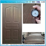 チークおよび自然なSapelliの木のドアのサイズの合板のドアの皮