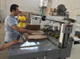 Dépliant ondulé Semi-Automatique Gluer de cadre de carton