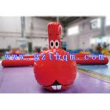 Boa gonfiabile per il giocattolo adulto dell'acqua/gioco gonfiabile adulto del giocattolo dell'acqua della sosta dell'acqua
