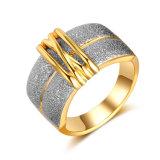 아마존 금 여자 보석 두 배 색깔 반지에 있는 최고 인기 상품