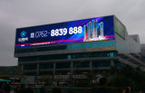 Farbenreiche im Freienled-Bildschirmanzeige P10 für das Bekanntmachen