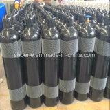 Cilindro de gás de aço padrão da alta pressão 40L/47L/50L do ISO 9809 com inspecionado estritamente e testado