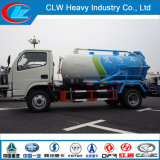 5cbm pequeño camión de succión de alcantarillado por vacío enemigo de las aguas residuales, lodos