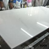 Blanc chaud la vente de la pierre artificielle Crystal Flooring Quartz