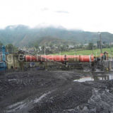 25 경험을%s 가진 직업적인 석탄 시멘트 회전하는 킬른