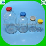 transparente geformte Flasche 100ml
