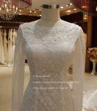 Aoliweiya Backless volle Hülsen-Brauthochzeits-Kleid