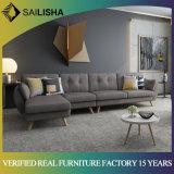 ترقية أريكة [نورديك] أسلوب تصميم جديدة يعيش غرفة أثاث لازم محدّد ركن أريكة أرائك قطاعيّ