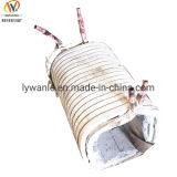 Four à induction de fréquence intermédiaire bobine de cuivre pour chauffage longitudinal
