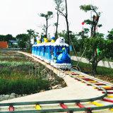 Diseño hermoso Parque de Atracciones Mini Niños vía paseos en tren en venta
