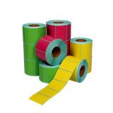 Impressão a Cores Personalizadas etiqueta autocolante de papel auto-adesivo, etiqueta da embalagem