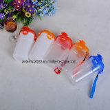 500ml kundenspezifischer pp.-Plastik, der bewegliche Schüttel-Apparatflasche führt