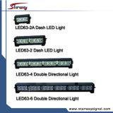 Lightbars direcionais com guia duplo de grade para construção, EMS (série LED63)