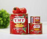 缶詰にされたトマトのりの錫