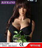 165cmタンの皮の大きい胸を搭載する現実的な性の人形のシリコーンの性のおもちゃ