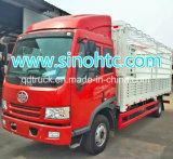FAW Genlyonの長いホイールベースの貨物自動車
