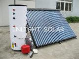 Разделить солнечный водонагреватель высокого давления с двойной катушки зажигания