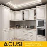 De in het groot Amerikaanse Keukenkasten van de Stijl van L Stevige Houten (ACS2-W13)