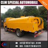 Dongfeng 4000L, das Abwasser-Becken-LKW-Abwasserkanal-Bagger-Fahrzeug leert